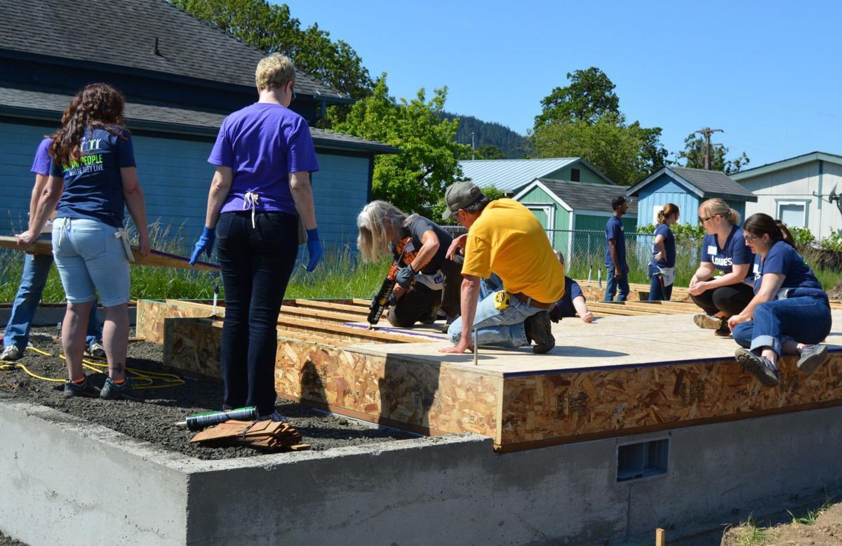 Women Build: Philomath home
