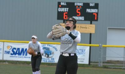 PHS softball: Kamden Combs