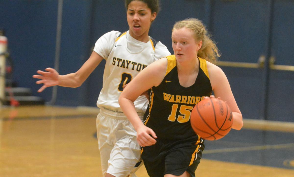 PHS girls basketball: Sage Kramer