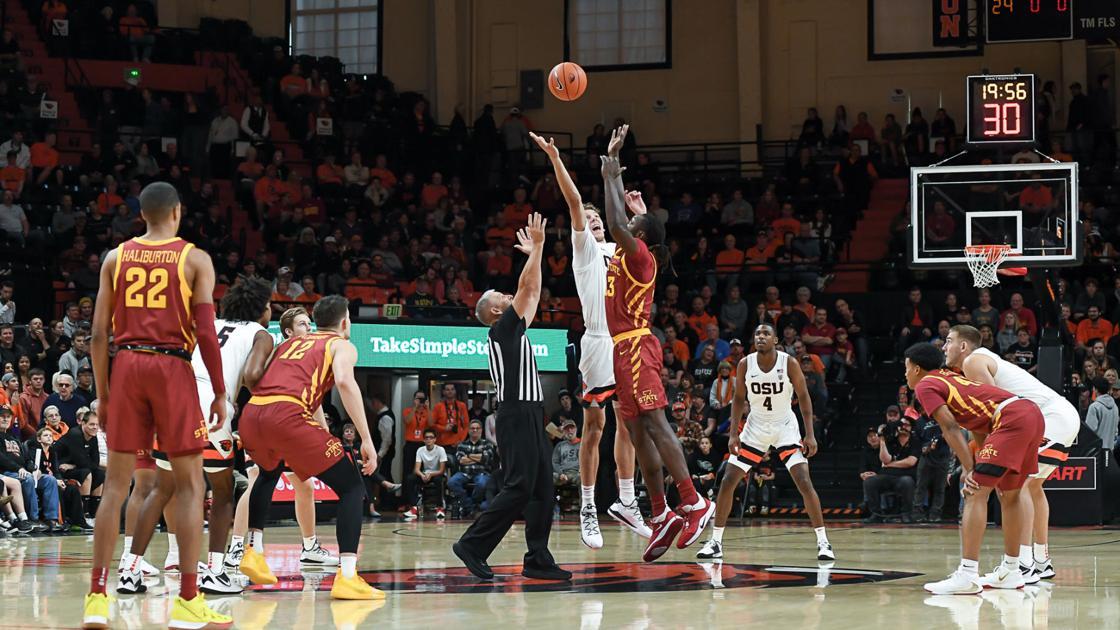 Gallery: Oregon State vs Iowa State men's basketball
