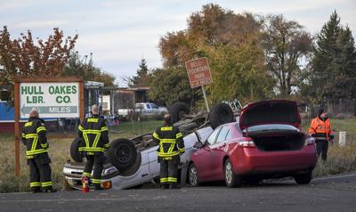 No injuries in crash near Monroe | News | gazettetimes com