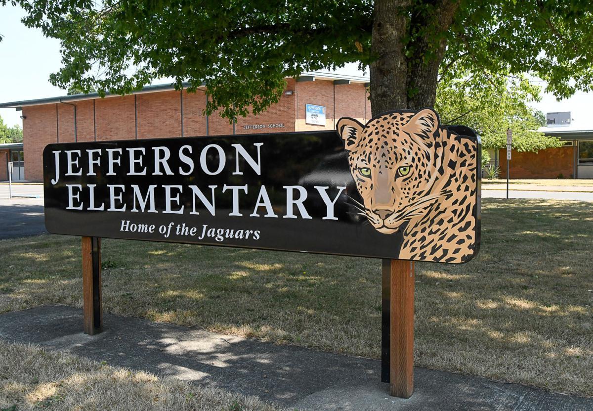 Jefferson Elementary School Sign