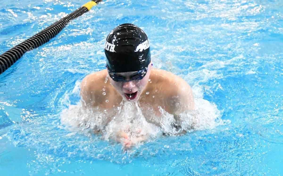 PHS swimming: Tristan Pindell