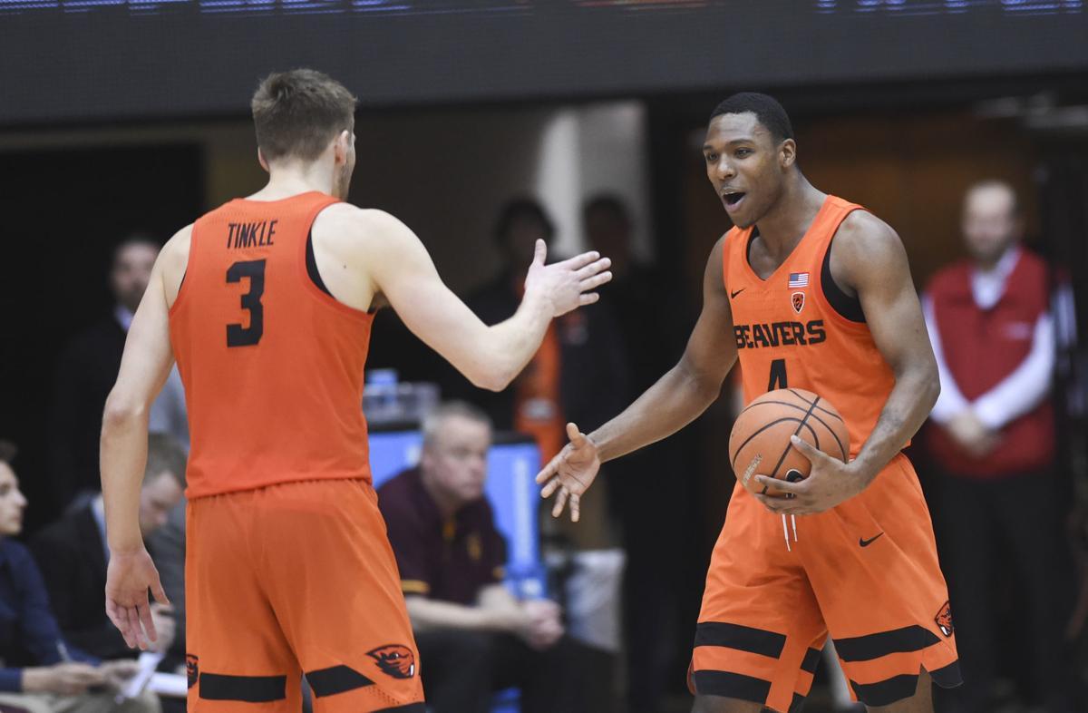 Oregon State vs. Arizona State Men's Basketball