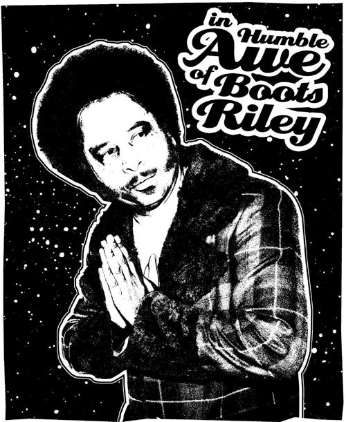 Boots Riley graphic