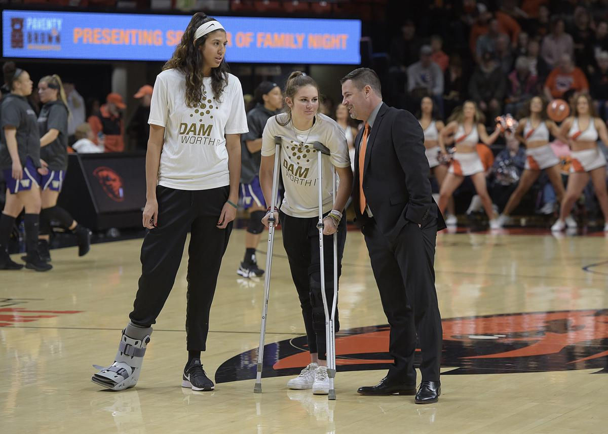Osu Women S Basketball Tudor Out For The Season With Knee Injury