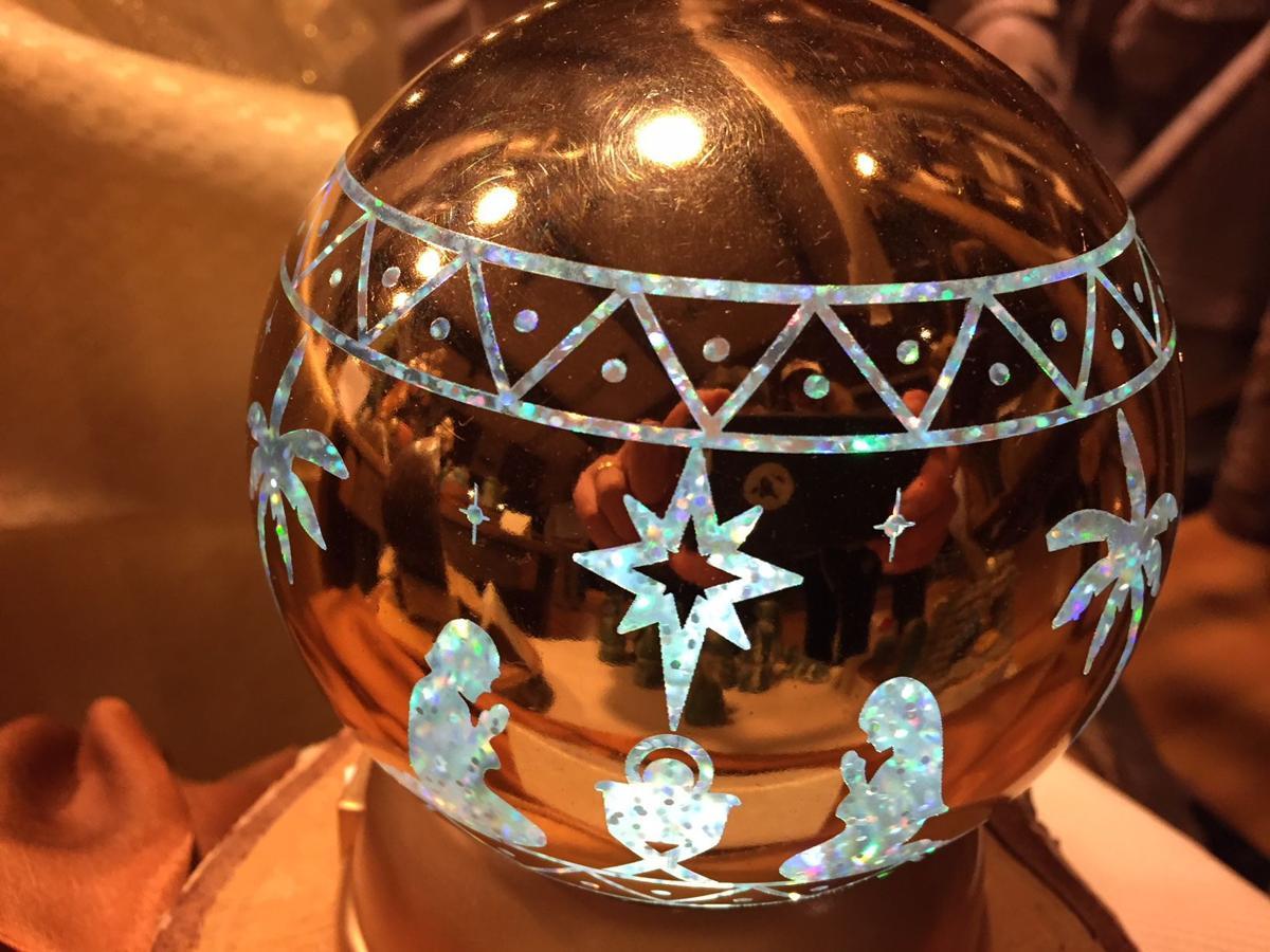 Nativity Disco Ball 12-5-17
