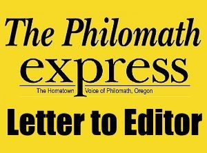 Philomath Letter to Editor logo