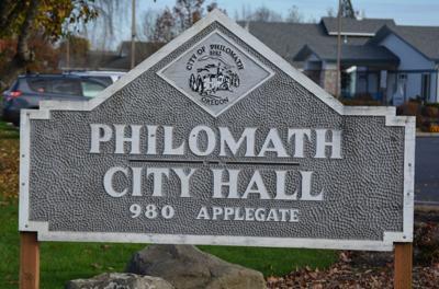 Philomath City Hall artwork