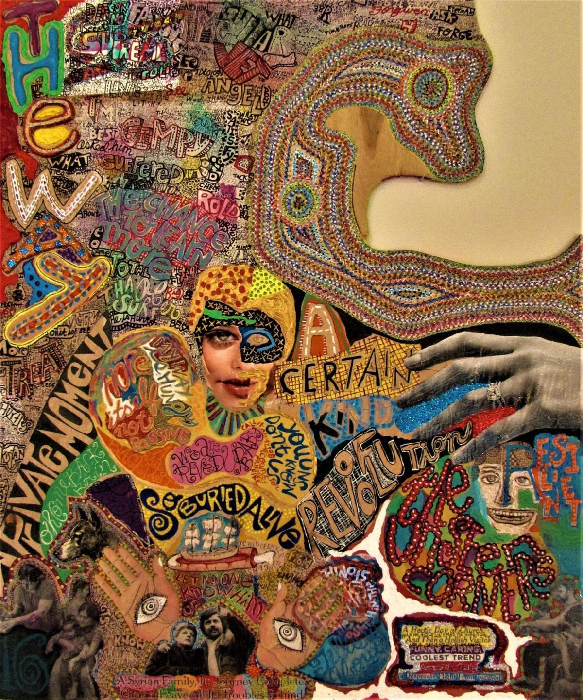 A show of his own: Known for aiding other artists, Bruce Burris ...