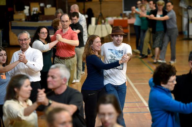 Ballroom dance lead
