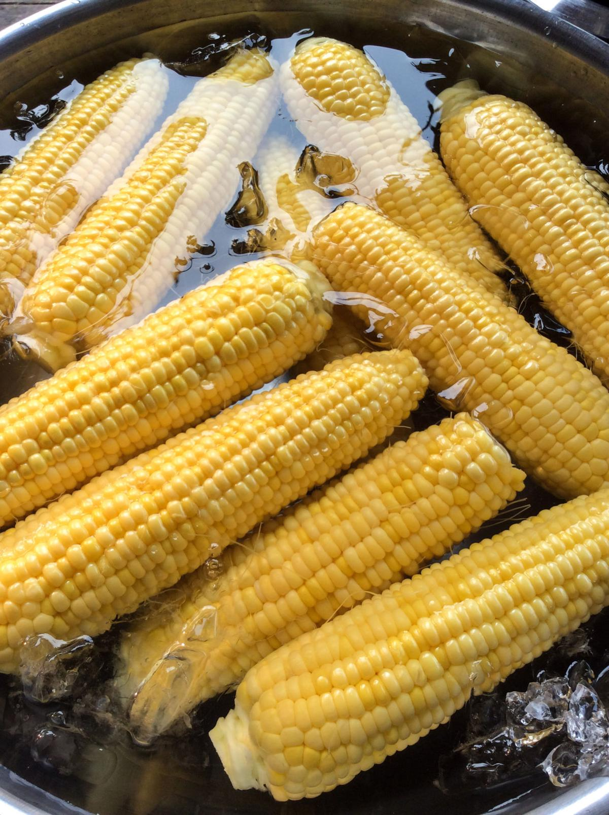 Local corn for later 1
