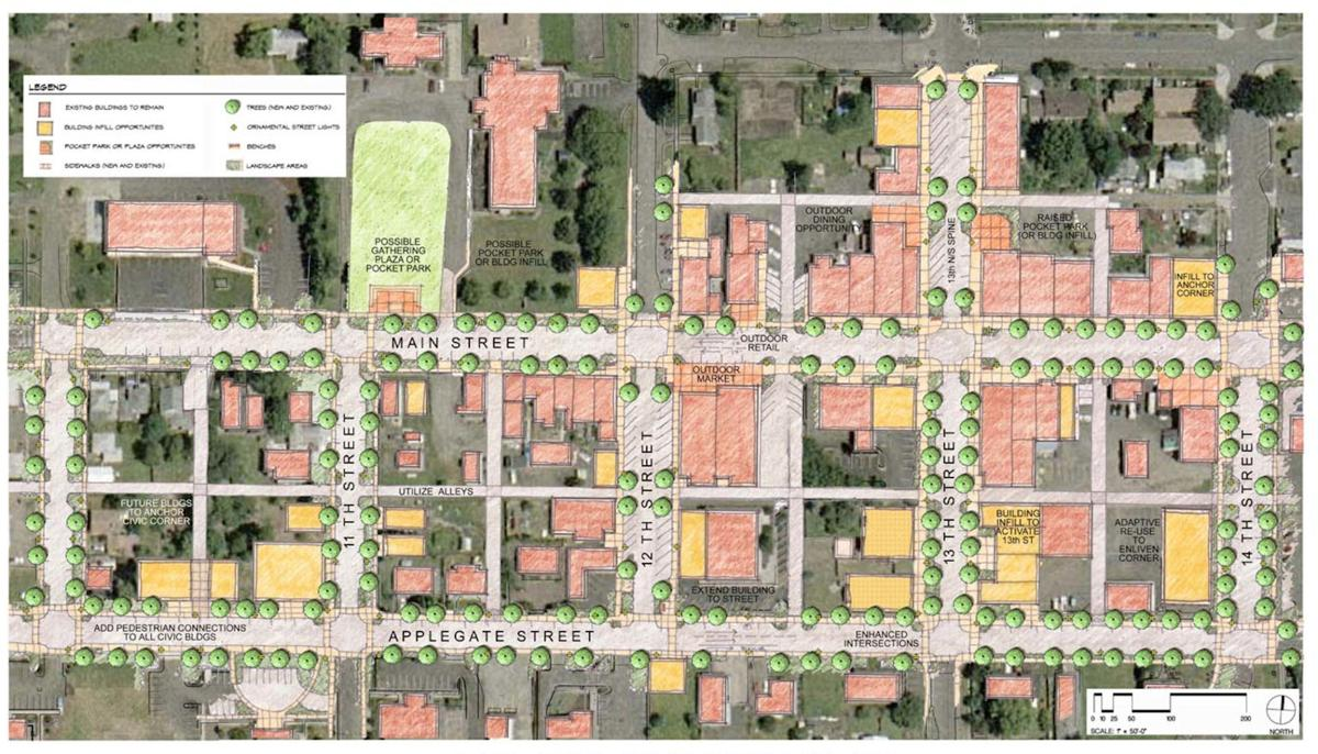 PHS Streetscape Map