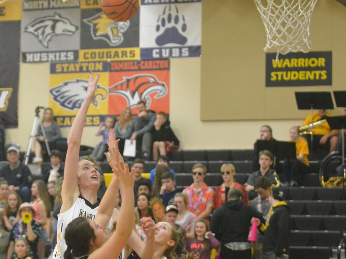 PHS girls basketball: Haidyn Ecker
