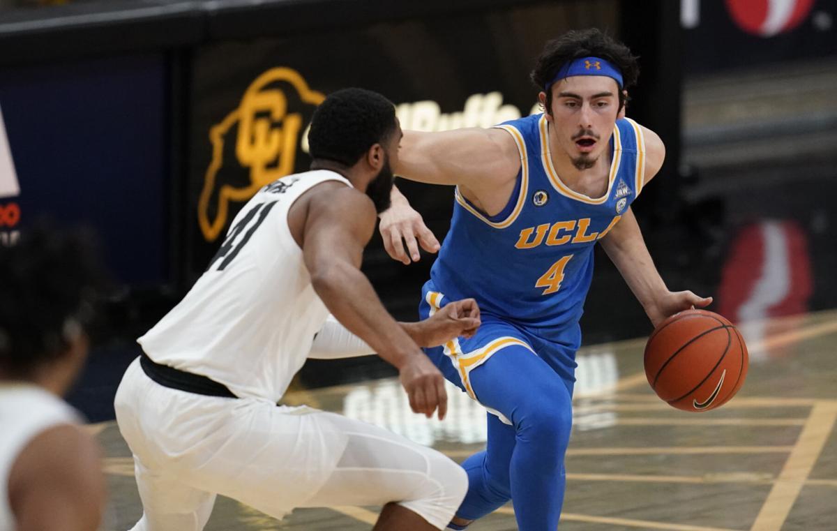 UCLA Colorado Basketball