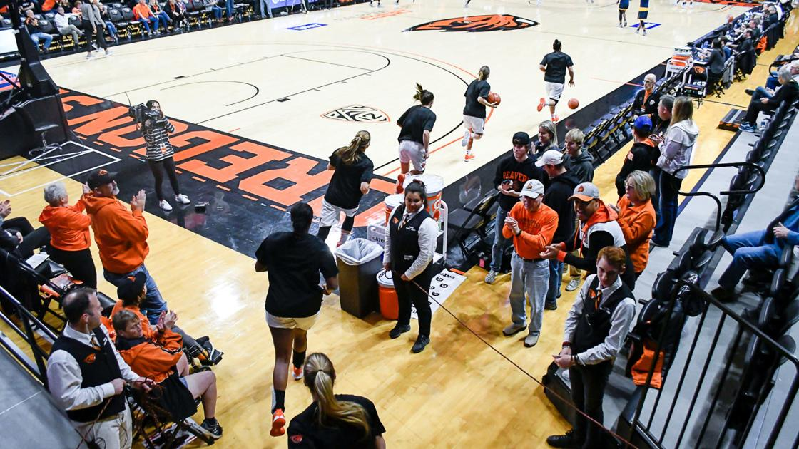 Gallery: Oregon State vs UC Irvine women's basketball