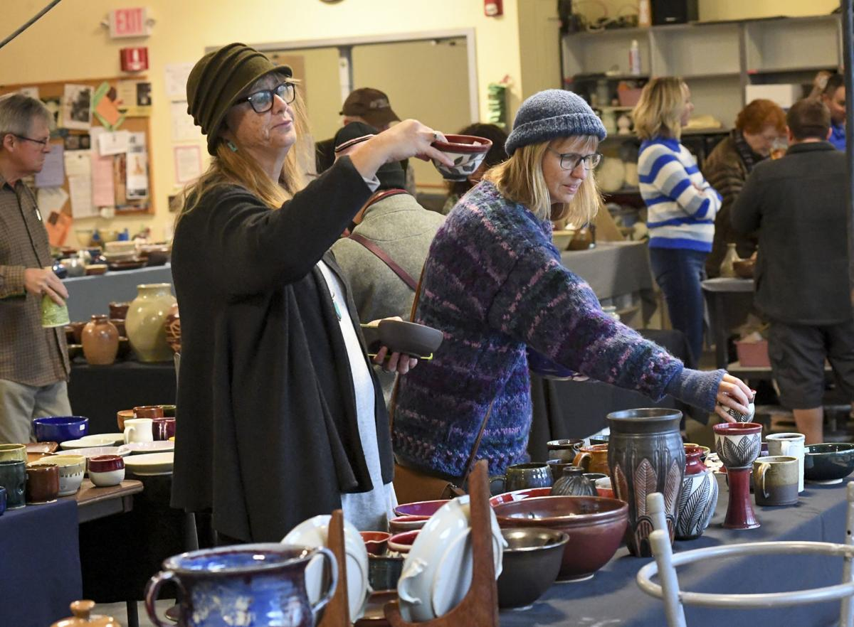 Benton Center puts on ceramics sale | Local | gazettetimes com