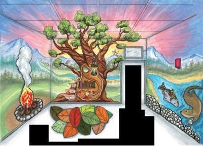 Sensory room mural