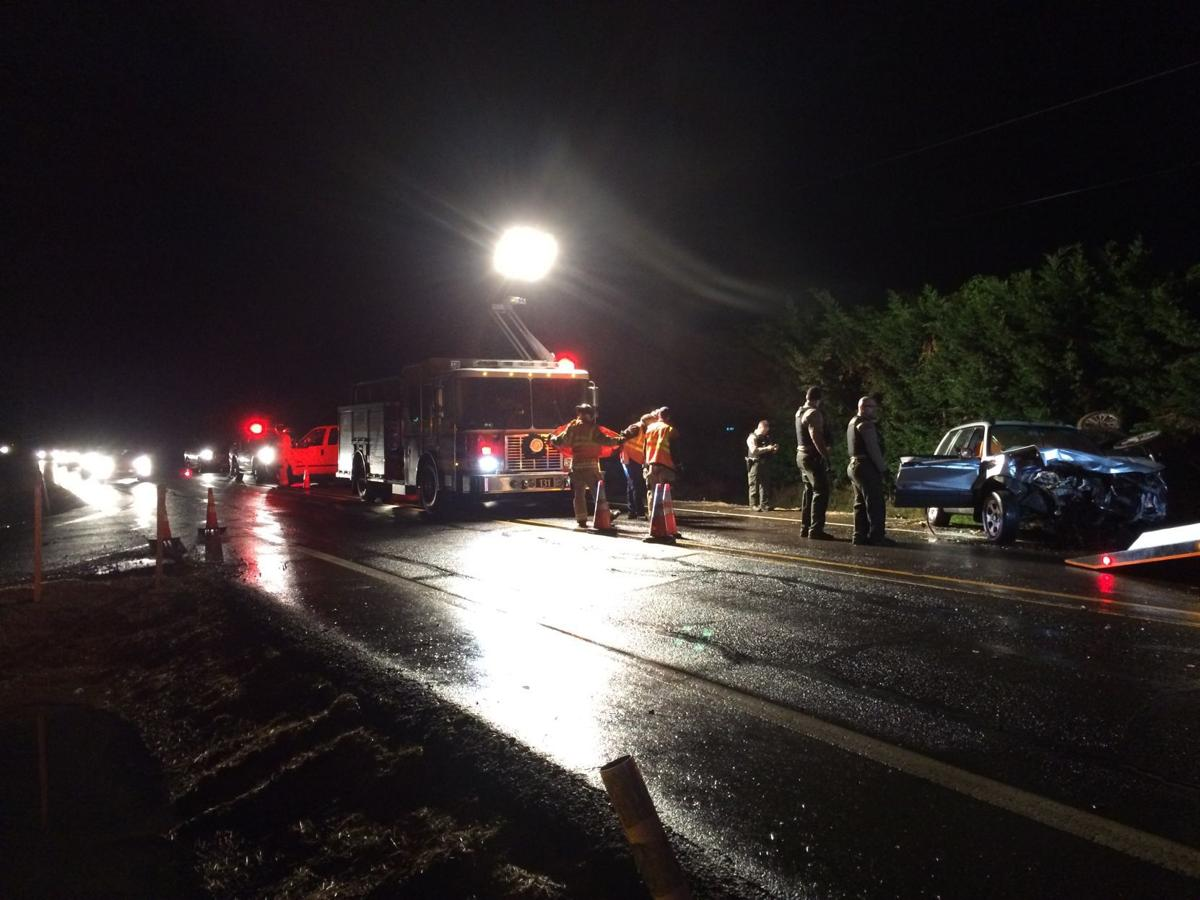 Highway 99W Crash