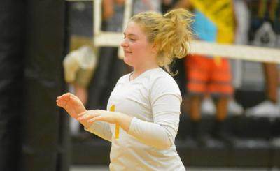 PHS volleyball: Claire Skinkis