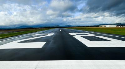 Airport runway stock 03