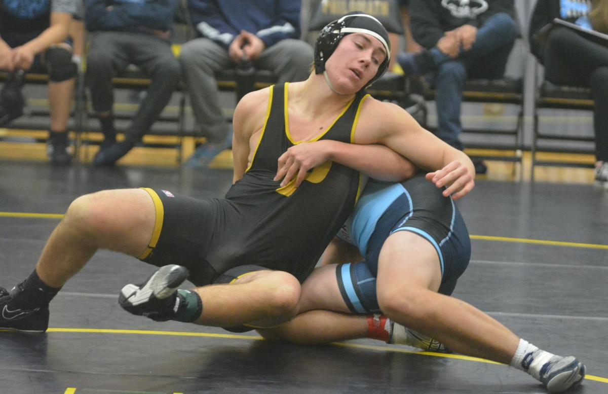 PHS wrestling: Brooks Stearns