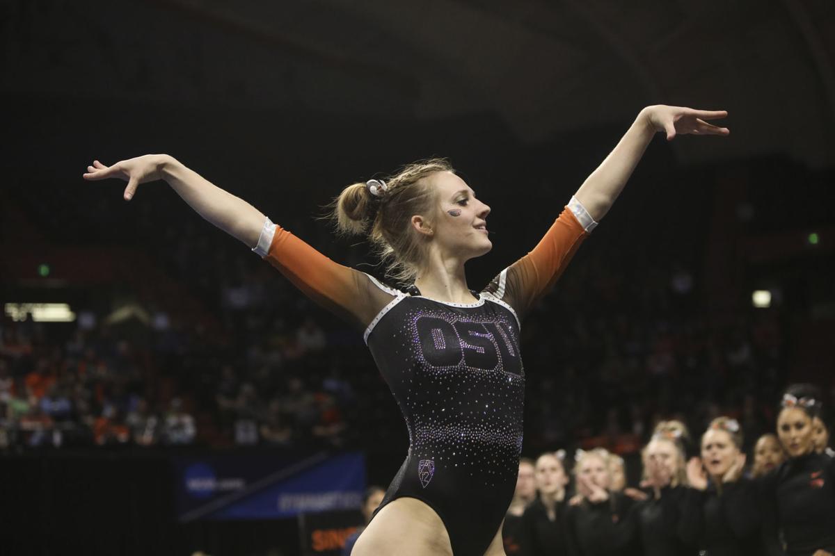 NCAA Corvallis Gymnastics Regional