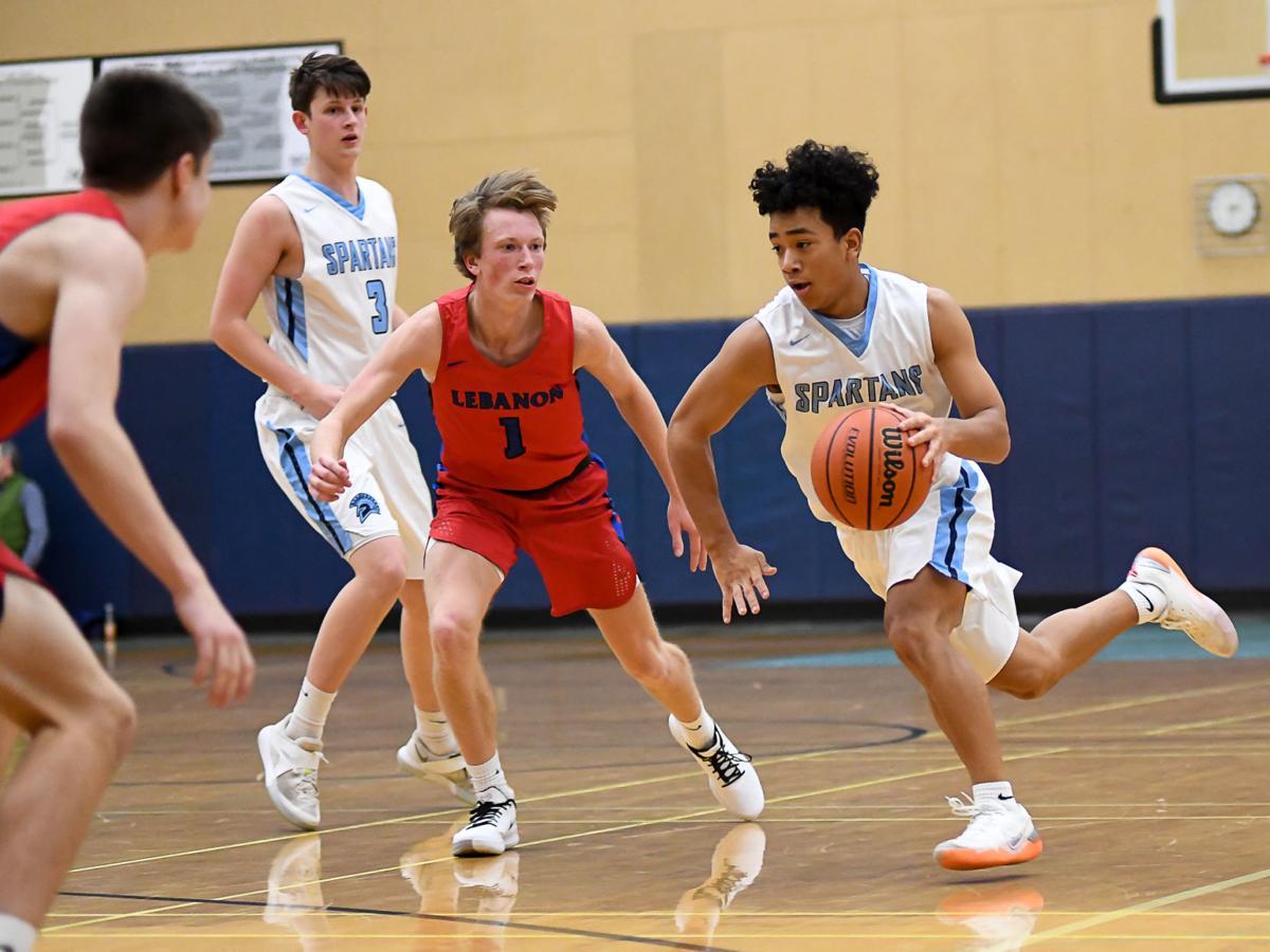 Gallery: Corvallis vs Lebanon boys basketball