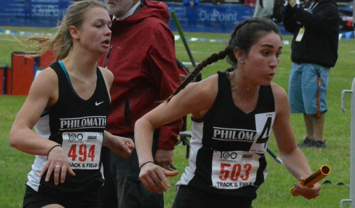 PHS track: Hannah Bovbjerg and Melia Morton