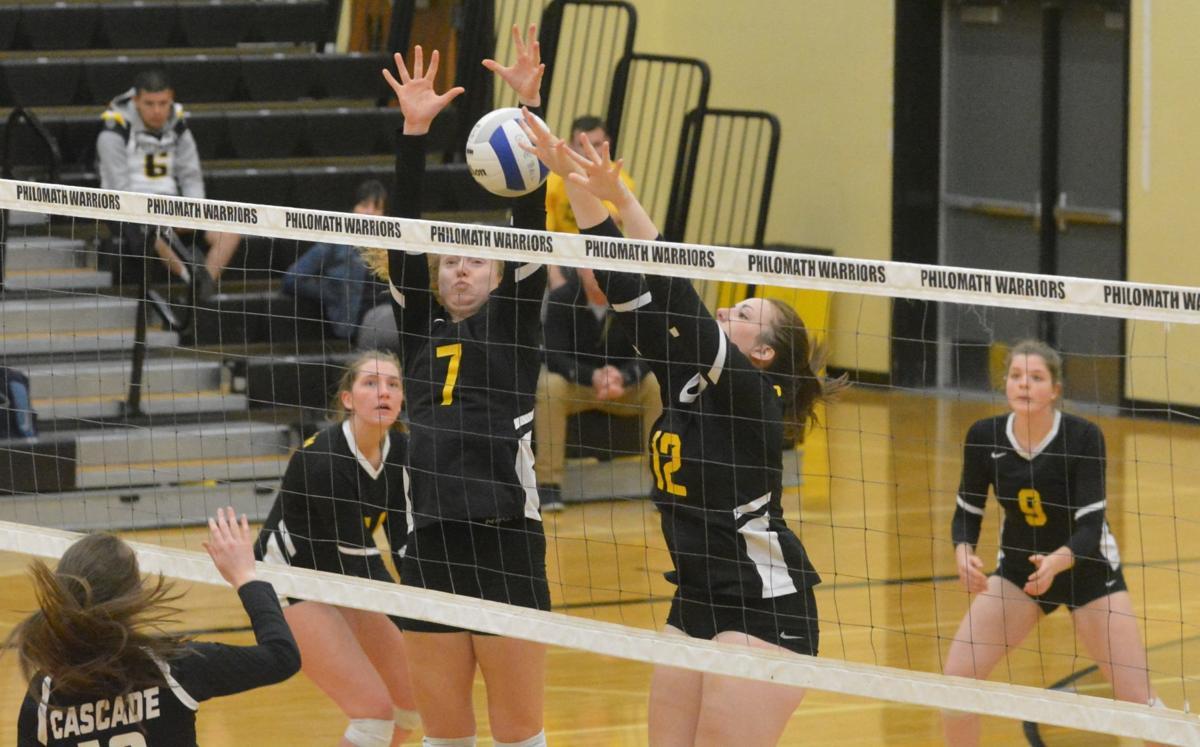 PHS volleyball: Sage Kramer, Ashley Matthews