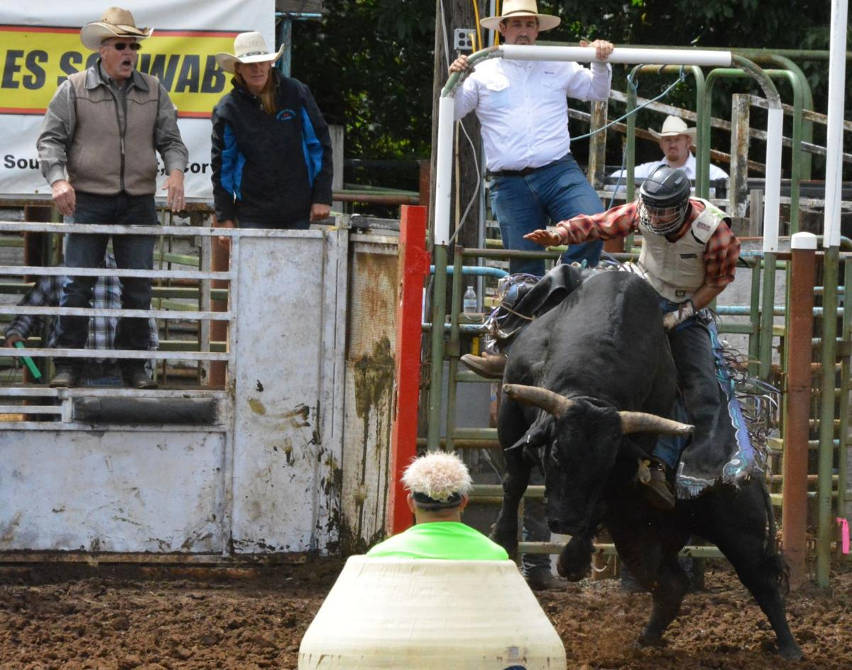 Marshall Wins Bull Riding Barker Takes All Around Title