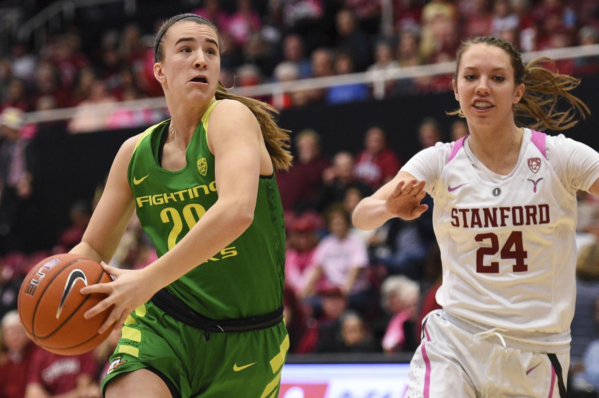 Image result for sabrina ionescu oregon and stanford