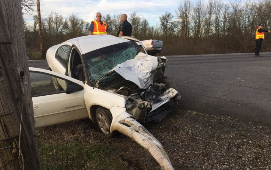 Crash closes one lane of Highway 20 in Albany | Local | gazettetimes com