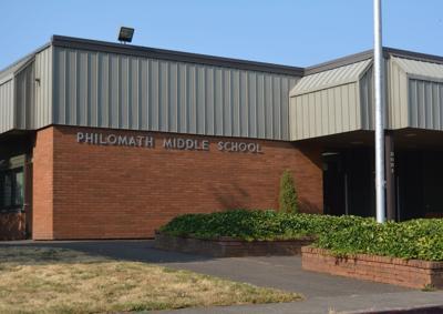 Philomath Middle School artwork
