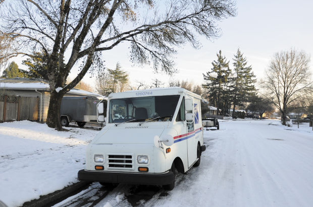 Snow-delayed mail has postal customers fuming