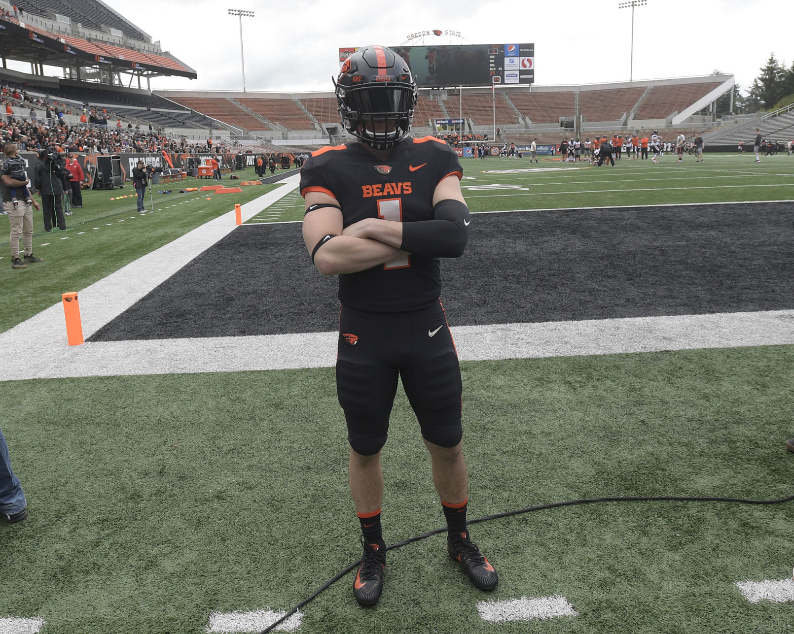Gallery: Oregon State unveils new football uniforms   Local ...