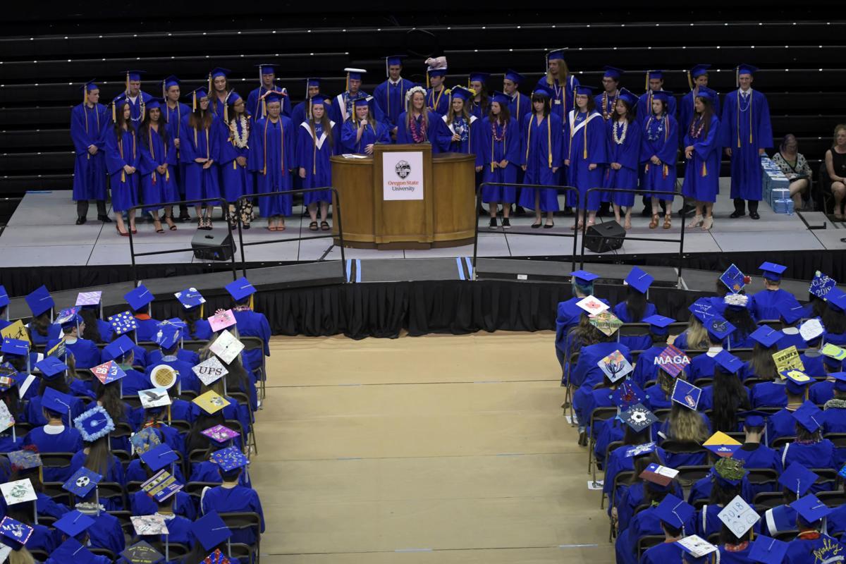 Corvallis High School Graduation 04