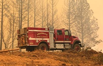 Philomath Fire & Rescue at Camp Fire
