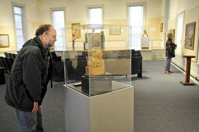 From the Past: Museum art exhibit