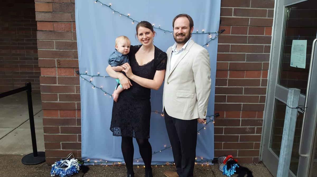 Lia Poole and family