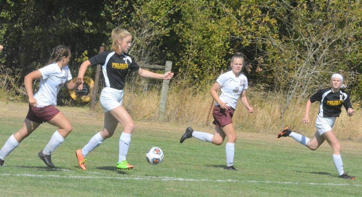PHS girls soccer: Kaili Saathoff, Ella Weickum