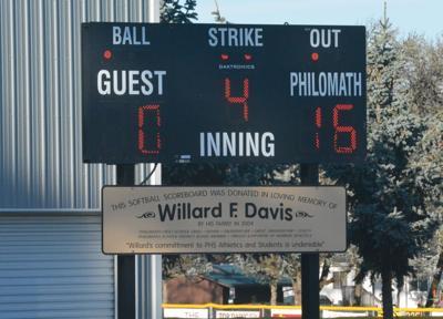 PHS softball artwork