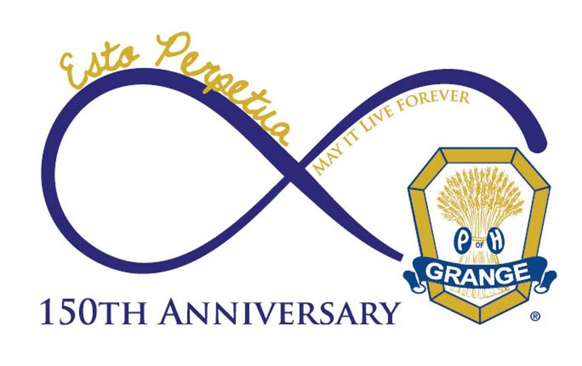 Grange anniversary logo