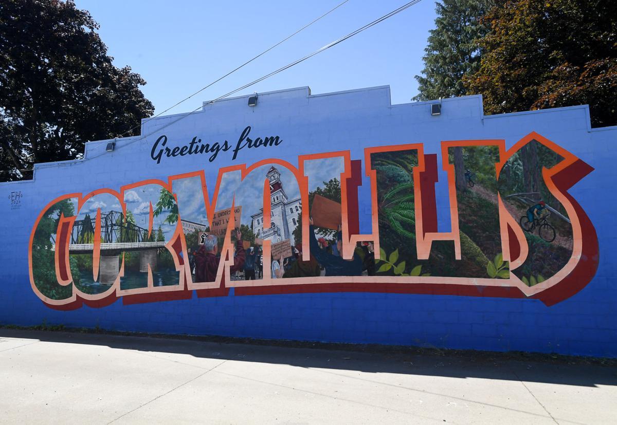 Corvallis Murals 11 Greetings from Corvallis