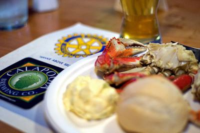 12th Annual Greater Albany Rotary Club Crab Fest Dinner