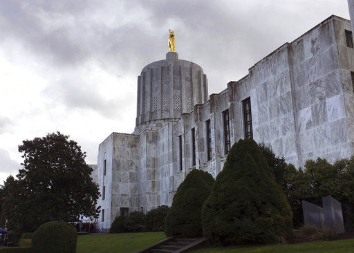 Oregon State Capitol STOCK