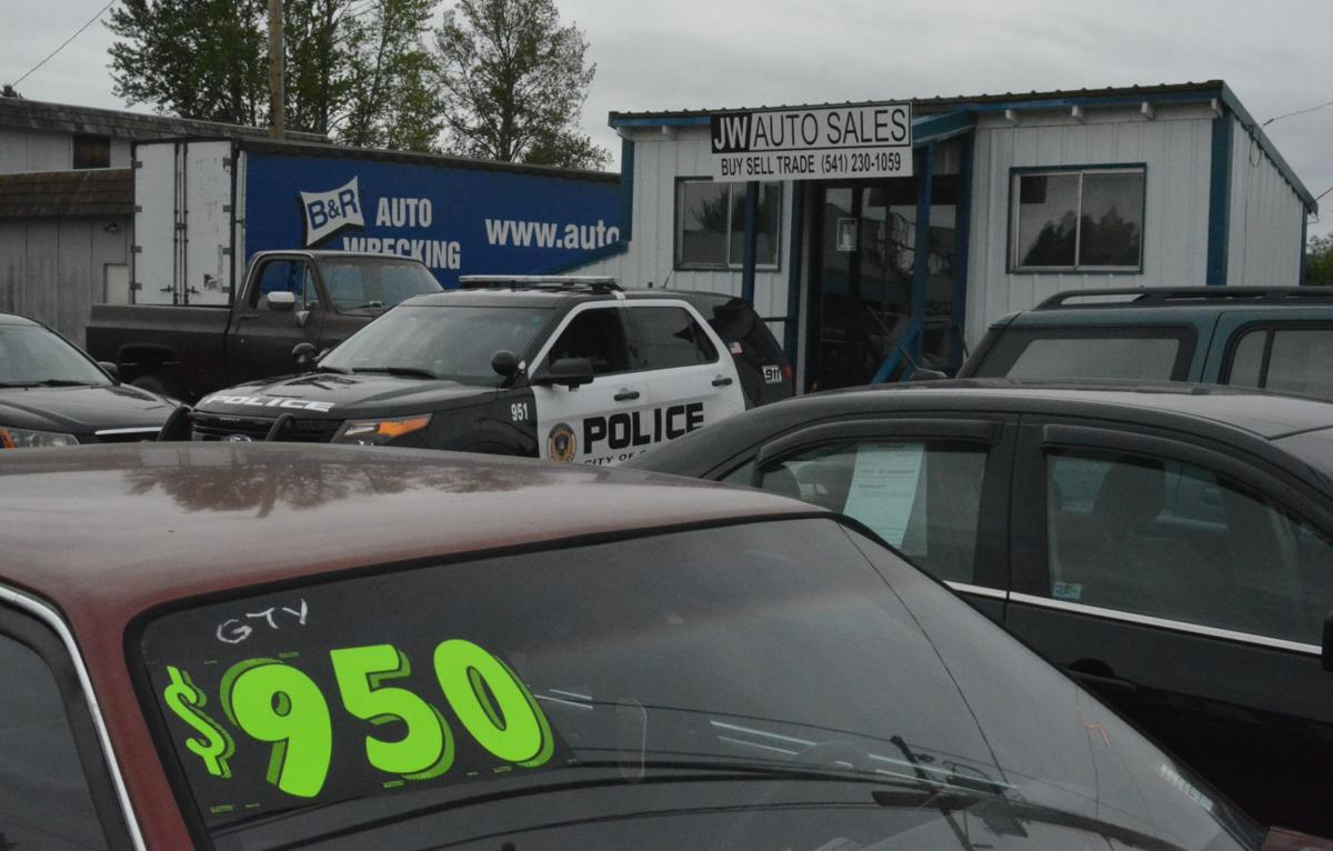 Used car sales scam