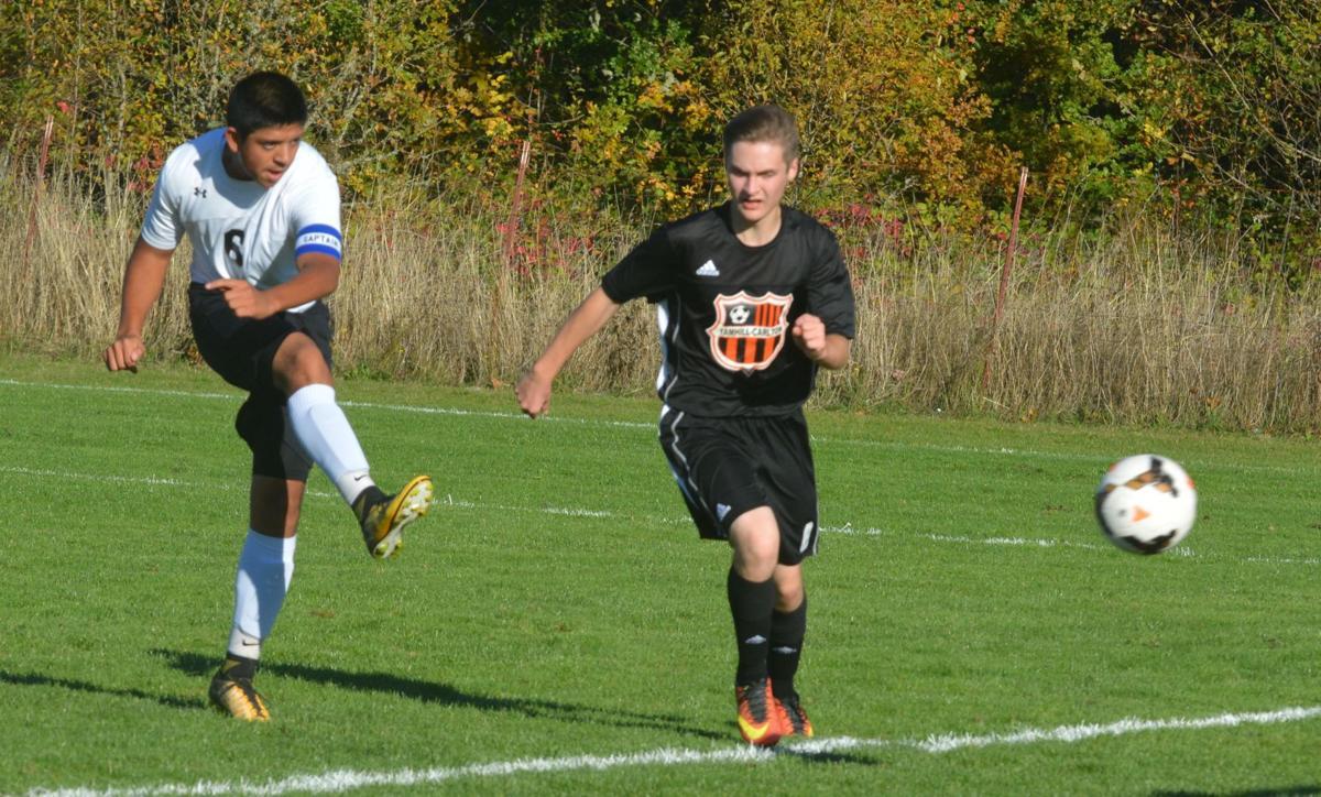 PHS boys soccer: Jonathan Martinez
