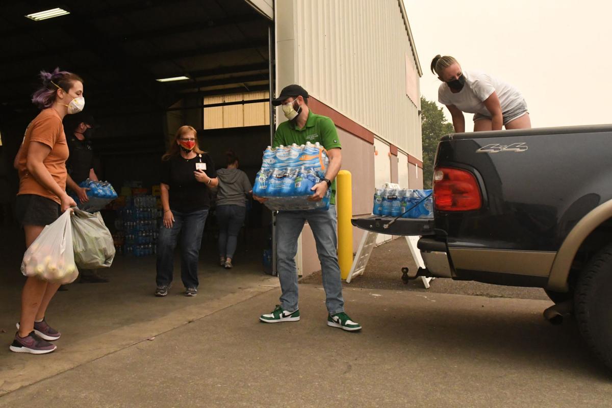 Linn County Fairground's Evacuation Center (copy)