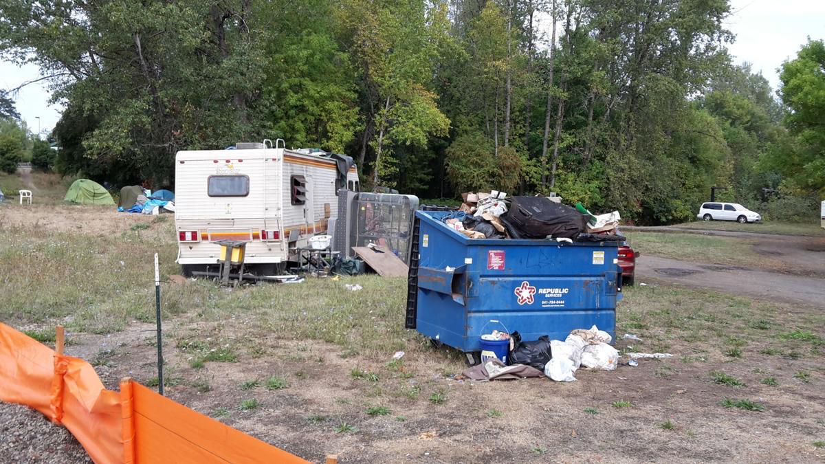 homeless camp BMX 20